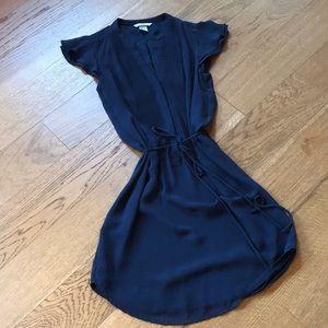 NWOT H&M Navy Blue Shirt Dress - Size 4